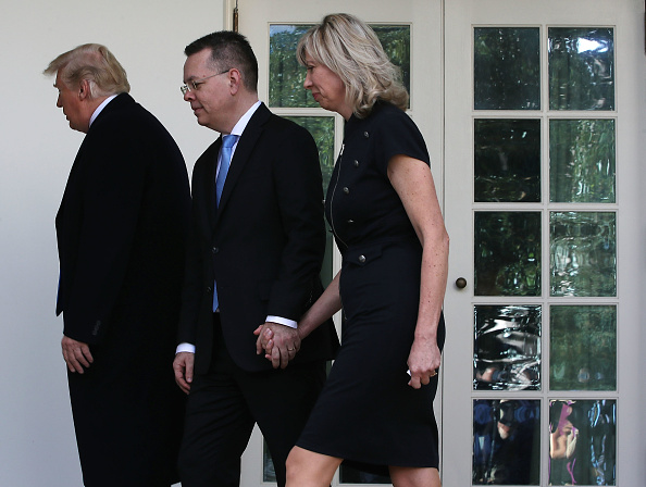 Preacher「President Trump Meets With Freed Pastor Andrew Brunson At The White House」:写真・画像(2)[壁紙.com]