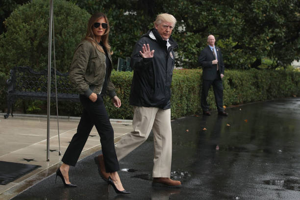 President Trump Departs White House En Route To Texas:ニュース(壁紙.com)