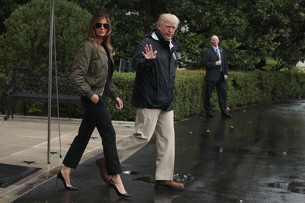 High Heels「President Trump Departs White House En Route To Texas」:写真・画像(11)[壁紙.com]
