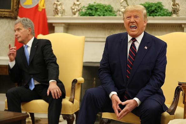 Chip Somodevilla「President Trump Hosts The President Of Finland At The White House」:写真・画像(14)[壁紙.com]