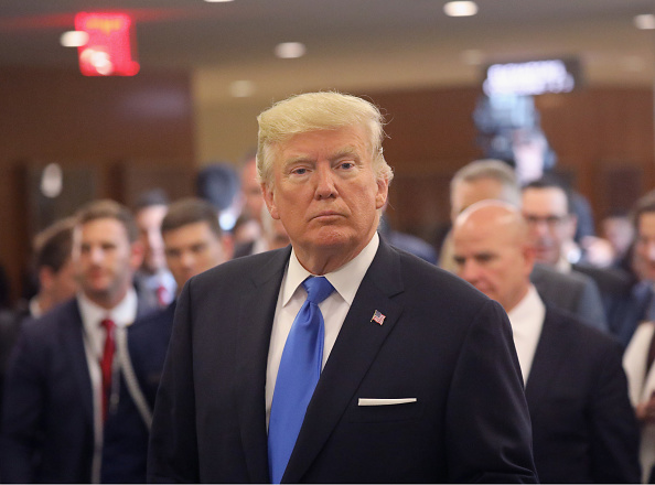 Speech「President Trump Arrives At The United Nations To Address The General Assembly」:写真・画像(11)[壁紙.com]