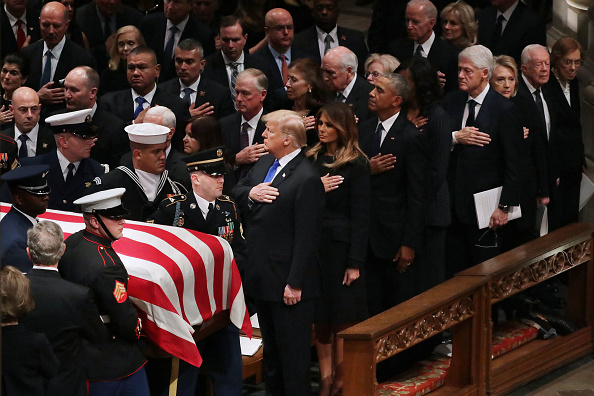 Funeral「State Funeral Held For George H.W. Bush At The Washington National Cathedral」:写真・画像(5)[壁紙.com]