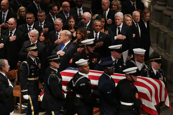 Funeral「State Funeral Held For George H.W. Bush At The Washington National Cathedral」:写真・画像(2)[壁紙.com]