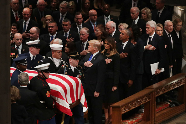 Cathedral「State Funeral Held For George H.W. Bush At The Washington National Cathedral」:写真・画像(12)[壁紙.com]