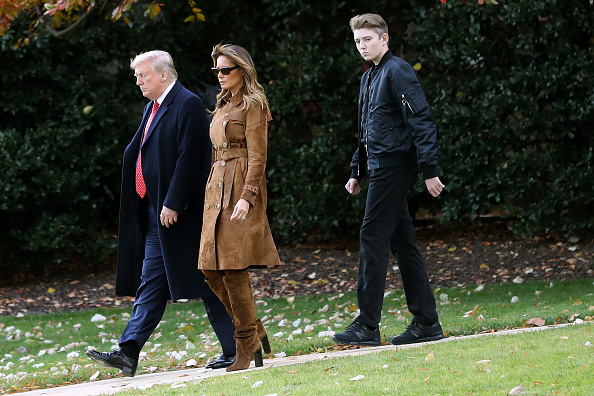 Holiday - Event「President Trump And First Lady Melania Depart White House En Route To Florida」:写真・画像(5)[壁紙.com]