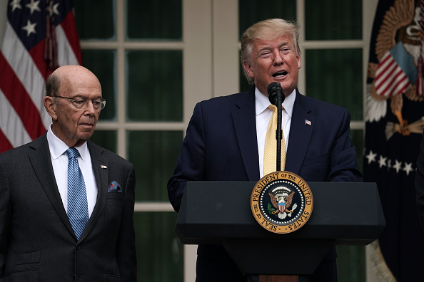 Wilbur Ross「President Trump Holds News Conference In Rose Garden On Census And Citzenship」:写真・画像(17)[壁紙.com]