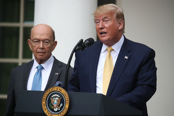 Wilbur Ross「President Trump Holds News Conference In Rose Garden On Census And Citzenship」:写真・画像(15)[壁紙.com]