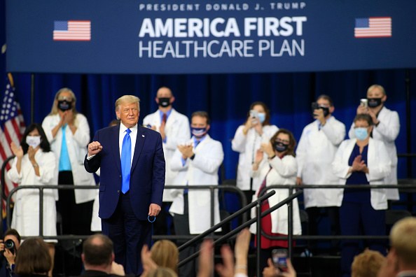 North Carolina - US State「President Trump Delivers Remarks On His Healthcare Policies In North Carolina」:写真・画像(1)[壁紙.com]