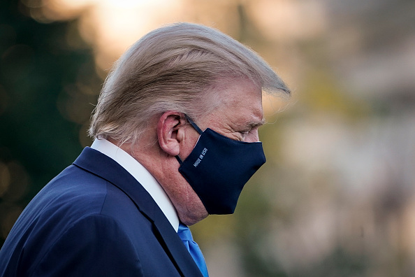 Infectious Disease「Trump Departs White House For Walter Reed Medical Center After COVID-19 Diagnosis」:写真・画像(17)[壁紙.com]