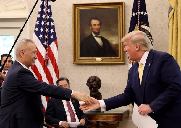 President Trump Meets With China's Vice Premier  Amid Trade Talks In Washington:ニュース(壁紙.com)