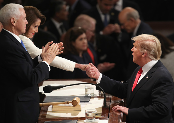 Politics「President Trump Delivers State Of The Union Address To Joint Session Of Congress」:写真・画像(11)[壁紙.com]