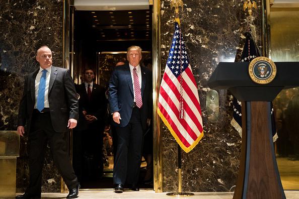 建造物「President Trump Speaks On Infrastructure Meeting Held At Trump Tower」:写真・画像(13)[壁紙.com]