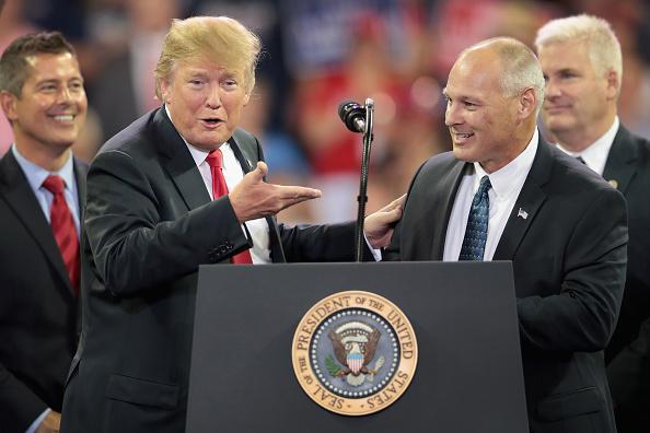 Minnesota「Donald Trump Holds Rally In Duluth, Minnesota」:写真・画像(8)[壁紙.com]