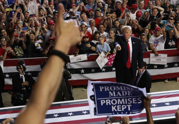 President Trump Marks 100 Days In Office With Rally In Pennsylvania:ニュース(壁紙.com)