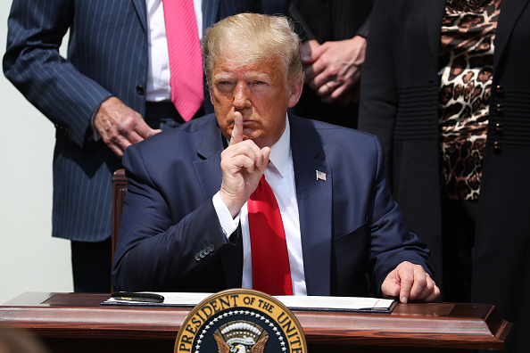 One Person「President Trump Holds A Press Conference At The White House」:写真・画像(3)[壁紙.com]