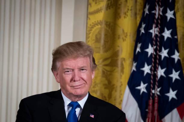 President And Mrs Trump Host Hanukkah Reception At The White House:ニュース(壁紙.com)