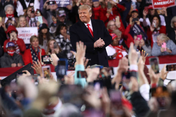 President Trump Holds Rally In Georgia For Senate Candidates Loeffler And Perdue:ニュース(壁紙.com)