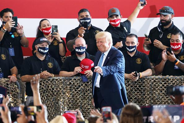 Arizona「Donald Trump Holds Campaign Event In Yuma, Arizona」:写真・画像(19)[壁紙.com]