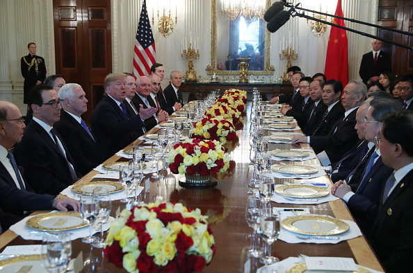 Trader「President Trump Participates In Signing Ceremony For Trade Deal With China」:写真・画像(19)[壁紙.com]