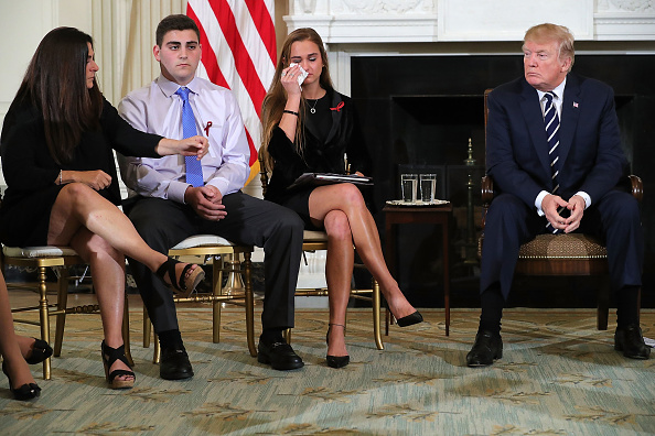 Florida - US State「Trump Holds Listening Session With Students And Teachers On Mass Shootings」:写真・画像(8)[壁紙.com]