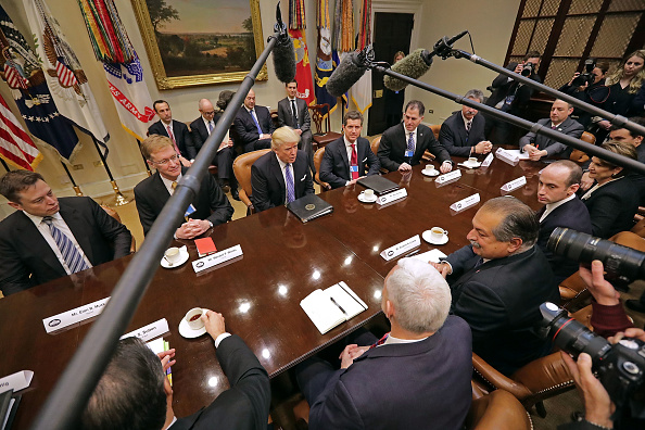 Leadership「President Trump Holds Listening Session With Business Leaders」:写真・画像(5)[壁紙.com]