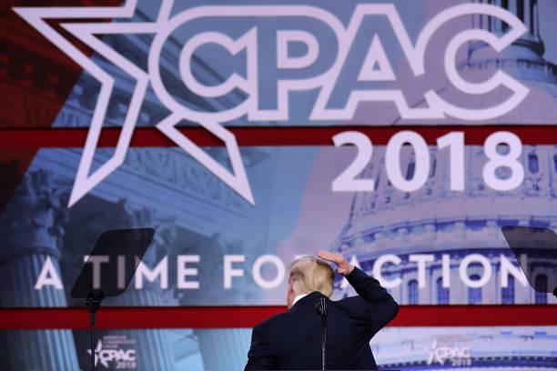Humor「President Donald Trump Addresses Conservative Political Action Conference」:写真・画像(6)[壁紙.com]