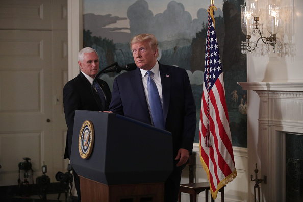 Approaching「President Trump Delivers Remarks On The Weekend's  Mass Shootings」:写真・画像(2)[壁紙.com]