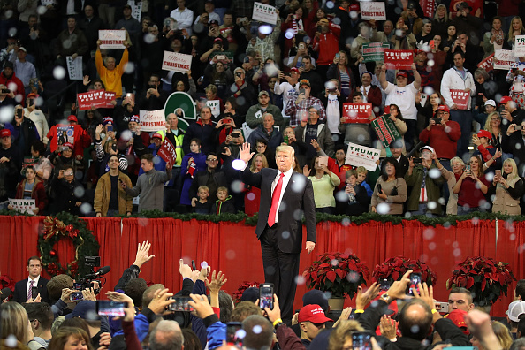 Florida - US State「President Trump Holds A Rally In Pensacola, Florida」:写真・画像(3)[壁紙.com]