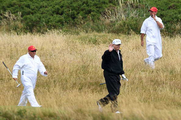 Turnberry「Scotland Protests At The Visit Of United States President Donald Trump」:写真・画像(4)[壁紙.com]