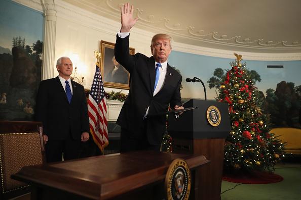 Identity「President Trump Announces U.S. Will Recognize Jerusalem As Capital Of Israel」:写真・画像(17)[壁紙.com]
