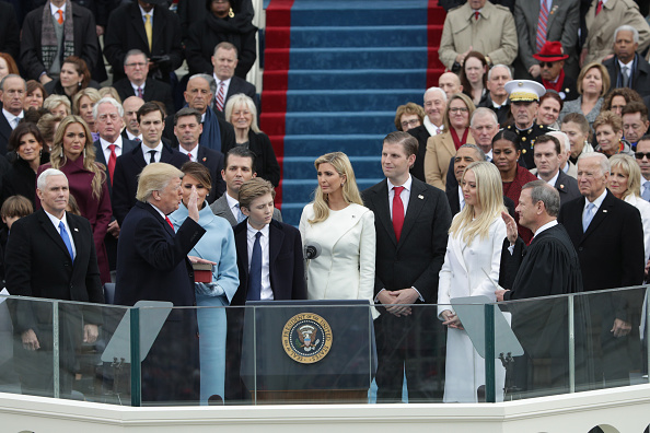 Family「Donald Trump Is Sworn In As 45th President Of The United States」:写真・画像(17)[壁紙.com]