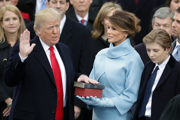 Presidential Inauguration「Donald Trump Is Sworn In As 45th President Of The United States」:写真・画像(3)[壁紙.com]