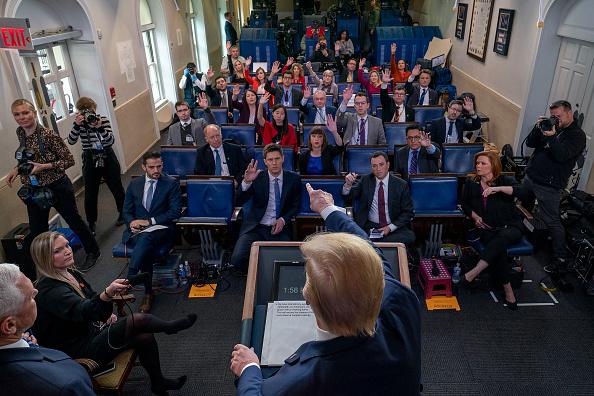 Press Room「White House Coronavirus Task Force Holds Daily Briefing」:写真・画像(6)[壁紙.com]