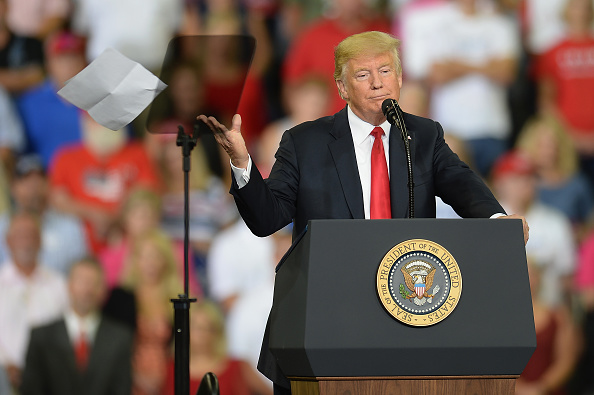 "MAGA「President Trump Holds ""MAGA"" Rally In Evansville, Indiana」:写真・画像(2)[壁紙.com]"