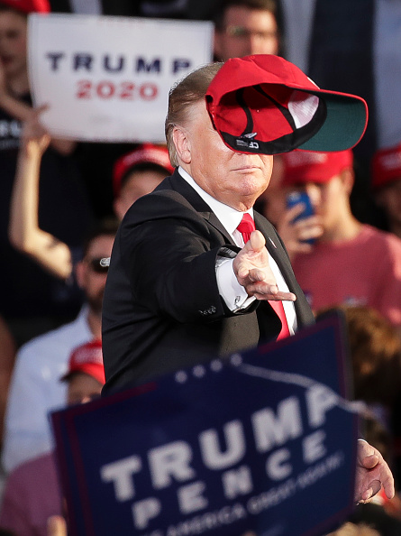 "MAGA「Donald Trump Holds ""MAGA"" Rally In Central Pennsylvania」:写真・画像(6)[壁紙.com]"