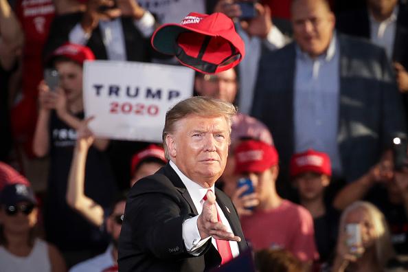 """選挙「Donald Trump Holds """"MAGA"""" Rally In Central Pennsylvania」:写真・画像(4)[壁紙.com]"""