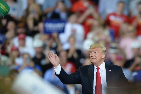 "MAGA「President Trump Holds ""MAGA"" Rally In Evansville, Indiana」:写真・画像(6)[壁紙.com]"