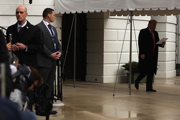 Alex Wong「President Trump Departs The White House For North Carolina Event」:写真・画像(19)[壁紙.com]