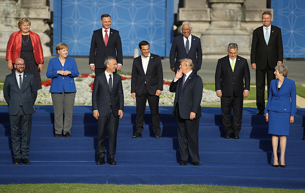 Sean Gallup「World Leaders Meet For NATO Summit In Brussels」:写真・画像(11)[壁紙.com]