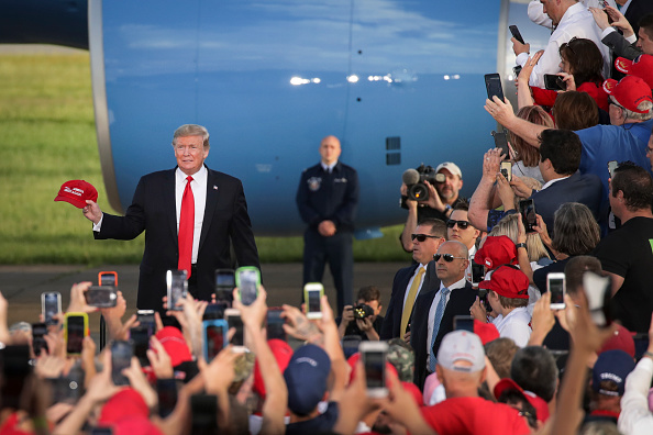 "MAGA「Donald Trump Holds ""MAGA"" Rally In Central Pennsylvania」:写真・画像(10)[壁紙.com]"
