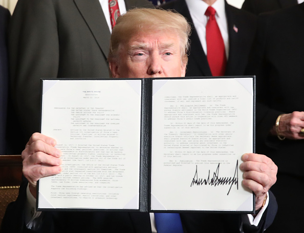 Trader「President Trump Signs A Presidential Memorandum On Sanctioning China Over Economic Aggression」:写真・画像(13)[壁紙.com]