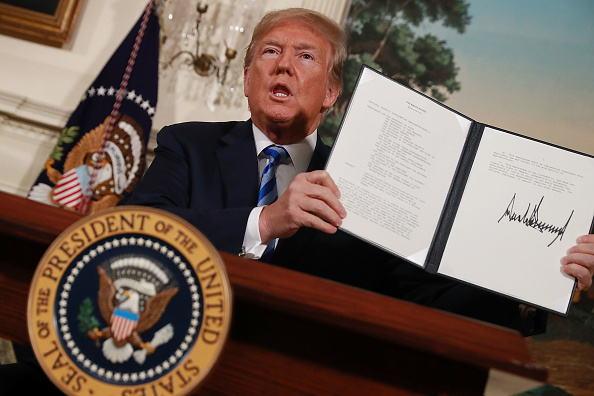 Decisions「President Trump Makes Announcement On Iran Deal」:写真・画像(16)[壁紙.com]