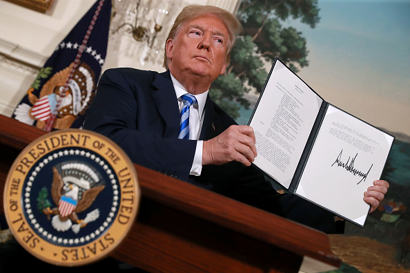 Middle East「President Trump Makes Announcement On Iran Deal」:写真・画像(9)[壁紙.com]