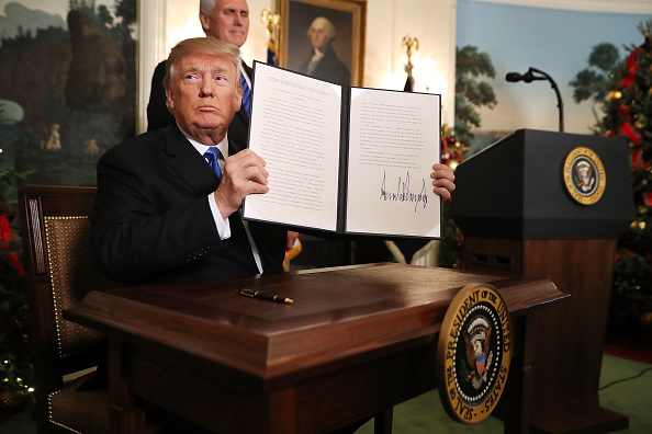 Jerusalem「President Trump Announces U.S. Will Recognize Jerusalem As Capital Of Israel」:写真・画像(8)[壁紙.com]