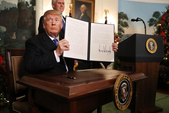 Israel「President Trump Announces U.S. Will Recognize Jerusalem As Capital Of Israel」:写真・画像(12)[壁紙.com]