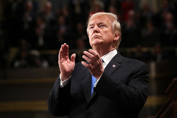 US State Of The Union Address「President Trump Addresses The Nation In His First State Of The Union Address To Joint Session Of  Congress」:写真・画像(5)[壁紙.com]