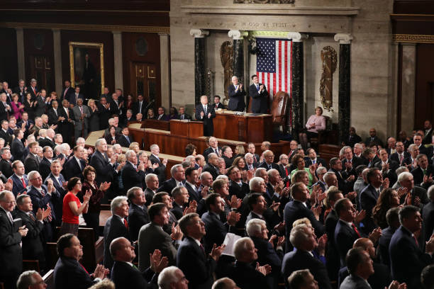 Donald Trump Delivers Address To Joint Session Of Congress:ニュース(壁紙.com)
