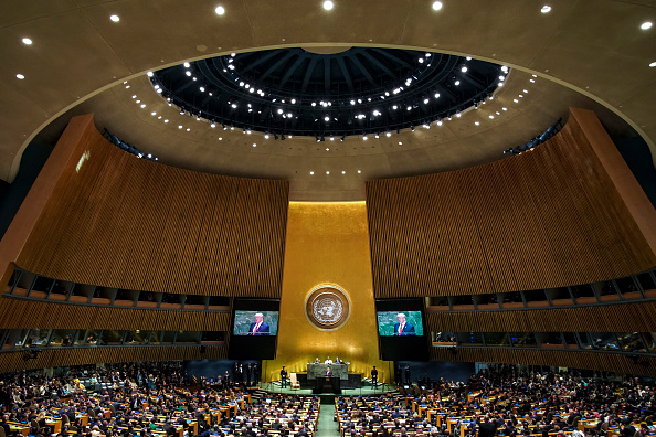 United Nations Building「World Leaders Address United Nations General Assembly」:写真・画像(4)[壁紙.com]