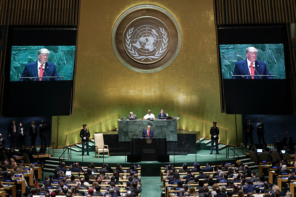 United Nations Building「World Leaders Address United Nations General Assembly」:写真・画像(7)[壁紙.com]