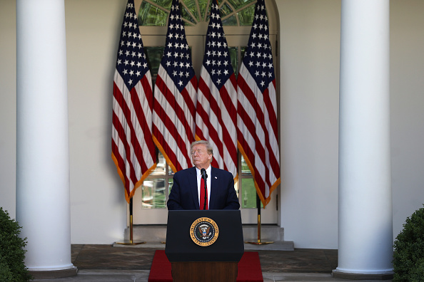 Speech「President Trump Delivers Remarks For White House National Day Of Prayer Service」:写真・画像(8)[壁紙.com]